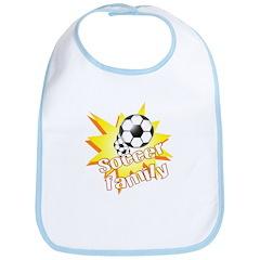Soccer Family Bib