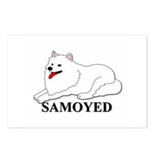 Cartoon Samoyed Postcards (Package of 8)