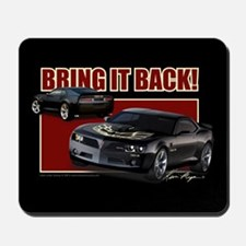 Bring It Back In Black Mousepad