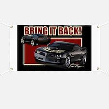 Bring It Back In Black Banner