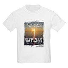 We Delight In The Shabbat Kids T-Shirt