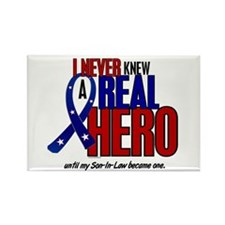 Never Knew A Hero 2 Military (Son-In-Law) Rectangl