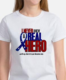 Never Knew A Hero 2 Military (Son-In-Law) Tee