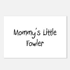 Mommy's Little Fowler Postcards (Package of 8)