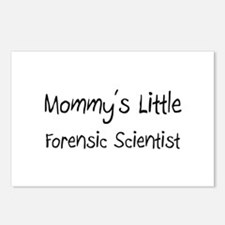 Mommy's Little Forensic Scientist Postcards (Packa