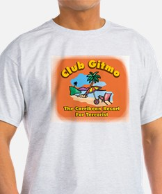 Club Gitmo Ash Grey T-Shirt