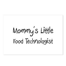 Mommy's Little Food Technologist Postcards (Packag