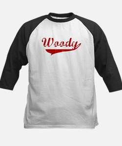 Woody (red vintage) Kids Baseball Jersey