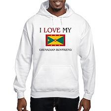 I Love My Grenadian Boyfriend Hoodie