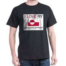 I Love My Greenlandic Boyfriend T-Shirt