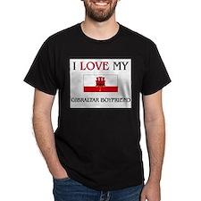 I Love My Gibraltar Boyfriend T-Shirt