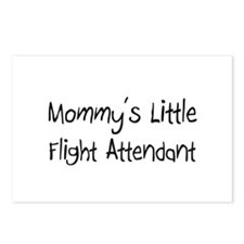 Mommy's Little Flight Attendant Postcards (Package