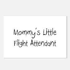 Mommy's Little Flight Attendant Postcards (Package