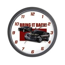 Bring It Back Wall Clock
