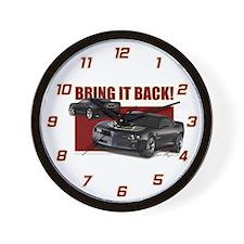 Bring It Back Wall Clock
