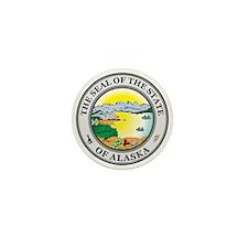 ALASKA-SEAL Mini Button (10 pack)