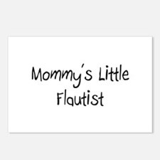 Mommy's Little Flautist Postcards (Package of 8)