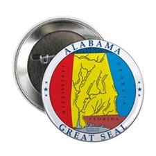 ALABAMA-SEAL Button