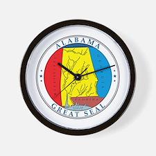 ALABAMA-SEAL Wall Clock