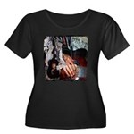 A Gift of Song Women's Plus Size Scoop Neck Dark T