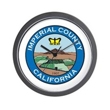 IMPERIAL-COUNTY-SEAL Wall Clock