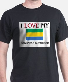 I Love My Gabonese Boyfriend T-Shirt
