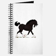 Black Shire with Blaze Journal