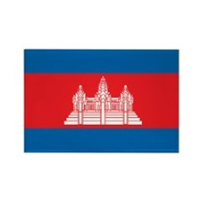 CAMBODIA Rectangle Magnet (100 pack)