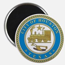 HOUSTON-CITY-SEAL Magnet