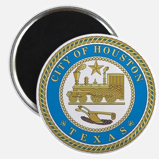 HOUSTON-CITY-SEAL Magnet