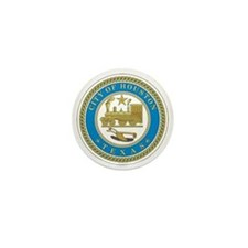 HOUSTON-CITY-SEAL Mini Button