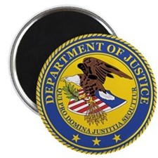 DEPARTMENT-OF-JUSTICE-SEAL Magnet