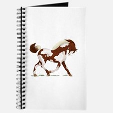 Chestnut Overo Horse Journal