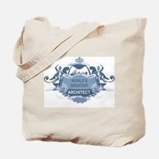 Greatest Architect Tote Bag
