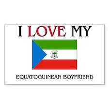 I Love My Equatoguinean Boyfriend Decal
