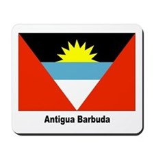 Antigua Barbuda Flag Mousepad