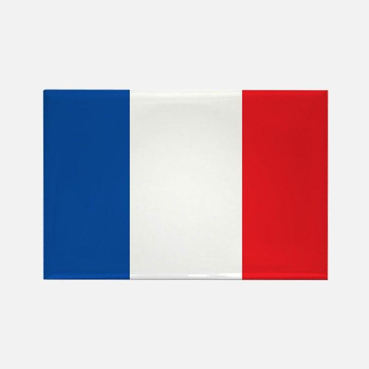 FRANCE Rectangle Magnet