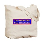 One Dollar Gas Tote Bag