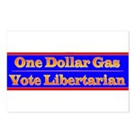 One Dollar Gas Postcards (Package of 8)