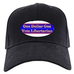 One Dollar Gas Black Cap