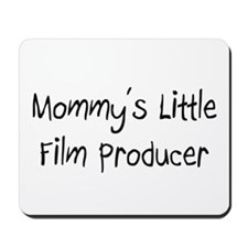 Mommy's Little Film Producer Mousepad
