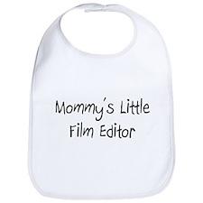 Mommy's Little Film Editor Bib