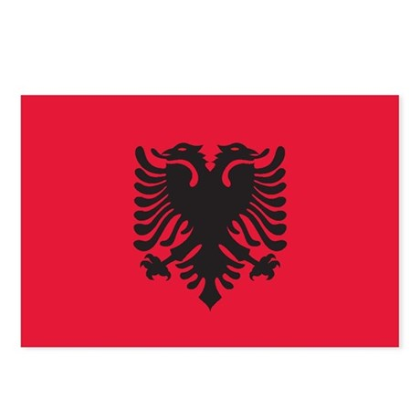 ALBANIA Postcards (Package of 8)