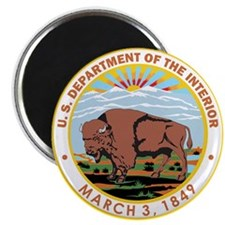 DEPARTMENT-OF-THE-INTERIOR- Magnet