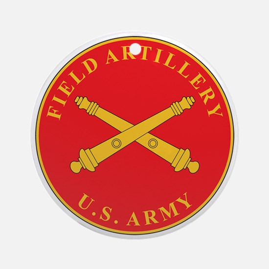 FIELD-ARTILLERY Ornament (Round)