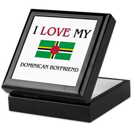 I Love My Dominican Boyfriend Keepsake Box