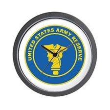 ARMY-RESERVE-SEAL Wall Clock