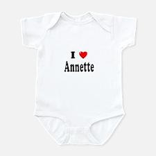 ANNETTE Infant Bodysuit