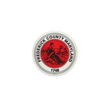 FREDERICK-COUNTY-SEAL Mini Button