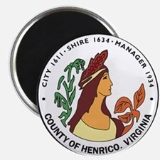HENRICO-COUNTY-SEAL Magnet